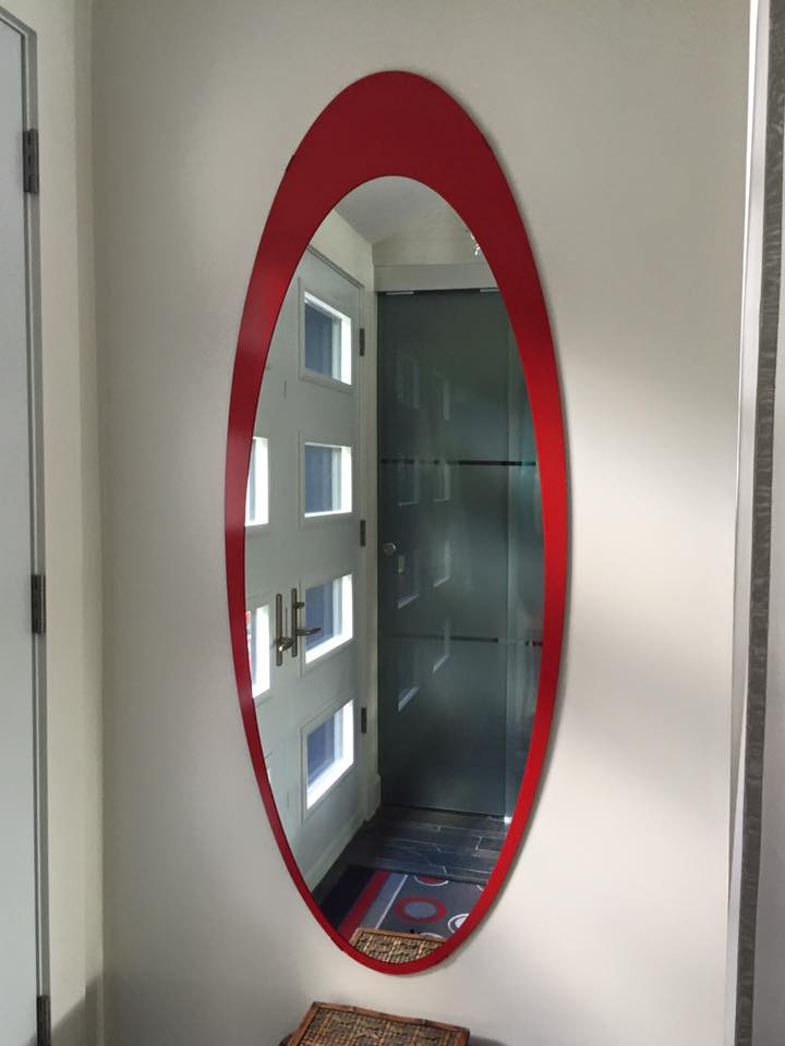 miroirs sur mesure vitrerie verre design. Black Bedroom Furniture Sets. Home Design Ideas
